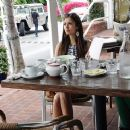 Nina Dobrev Goes Shopping And Gets Some Lunch In West Hollywood - 379 x 369