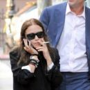 Mary-Kate Olsen: walk in NYC's West Village
