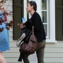 Demi Moore arrives at a friends house in The Valley - March 3, 2011