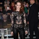 Kristen Stewart at the European Premiere of The Twilight Saga: Breaking Dawn - Part 2 at Empire Leicester Square in London