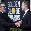 Joaquin Phoenix and Taron Egerton At 77th Golden Globe Awards (2020) - 454 x 329
