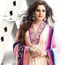 Zarine Khan In Anarkali New Photo Shoot For A New Collection Of 2013 - 374 x 474