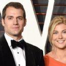 Henry Cavill and Tara King (Vanity Fair Oscars 2016 Party)