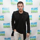 "Nick Jonas visits ""The Elvis Duran Z100 Morning Show"" at Z100 Studio on April 13, 2016 in New York City"