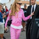 Paris Hilton Leaving A Yacht In Cannes