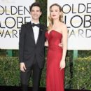 Brie Larson and Alex Greenwald: 74th Annual Golden Globe Awards - Arrivals