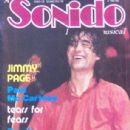 Jimmy Page - Sonido Magazine Cover [Mexico] (October 1985)