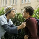 Michael Rosenbaum and Tony Denman in Touchstone's Sorority Boys - 2002
