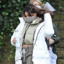 Michelle Keegan – on the set of 'Brassic' in Lancashire - 454 x 492