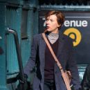 Scarlett Johansson – Filming new film in NY - 454 x 686