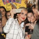 Katy Perry at a Westfield appearance in Perth