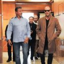Sylvester Stallone and Jason Statham Grab Lunch in Beverly Hills - 454 x 444