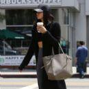 Jenna Dewan Tatum grabs a coffee in Hollywood