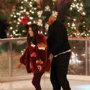 Kourtney Kardashian – Ice skating at a Christmas party in Thousand Oaks - 454 x 629