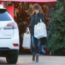 Halle Berry Christmas Shopping In Beverly Hills
