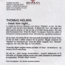 Thomas Helmig - Treat Me Right / Good Time