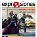 Chris Evans, Chris Hemsworth, The Avengers - Expresiones Magazine Cover [Ecuador] (26 April 2012)