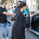 Kim Kardashian Shopping In La