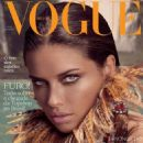 Adriana Lima Covers Vogue Brazil February 2012