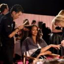 Lais Ribeiro 2014 Victorias Secret Show Backstage London