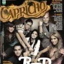 Rbd, Anahí, Dulce María, Maite Perroni, Christopher Von Uckermann, Alfonso Herrera, Christian Chávez - Capricho Magazine Cover [Brazil] (24 September 2006)