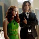 Steven Strait and Danielle Panabaker