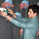 Nick Jonas hit up the Planet Hollywood in Time Square, April 9