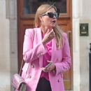 Holly Valance – In a pink blazer out in London - 454 x 586