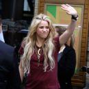 Shakira – Leaving the Lyric Theater in Manhattan 05/16/2017