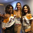 Glória Maria, Luciana Gimenez and Fatima Bernardes - 2017