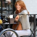 Angie Everhart – Leaving Joan's on Third in Los Angeles - 454 x 681