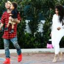 Blac Chyna and Tyga Have Lunch With Their Son King Cairo at Mr. Chow in Malibu - March 16, 2014