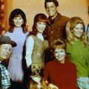 The cast of Petticoat Junction the final season