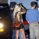Pamela Anderson - At Club Hyde In Hollywood, November 13 2006