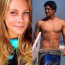 World champion of surfing, Medina is rumored to be flirting with Brazilian model