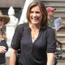 Mariska Hargitay - On The Set Of