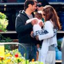 Brooke Burke - With Family Buying Plants - 02/26/09