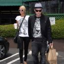Paris Hilton With Boyfriend Benji Madden In Hollywood, April 23 2008