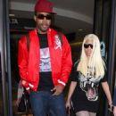 Catty Nicki Minaj's Easter Weekend LAX Landing