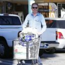 Tyler Ferguson does some solo grocery shopping at Whole Foods in West Hollywood, Calfiornia on January 5, 2015 - 454 x 576