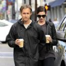 Anne Hathaway and her husband Adam Shulman out and about in Beverly Hills on January 06, 2015 - 454 x 550