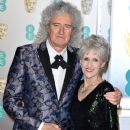 Brian May attends the EE British Academy Film Awards at Royal Albert Hall on February 10, 2019 in London, England
