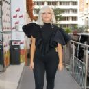 Bebe Rexha in Black Outfit – Out in Paris
