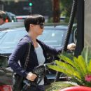 Christina Ricci At A Gas Station In Los Angeles - September 12 2009