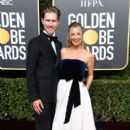 Kaley Cuoco and Karl Cook At The 76th Annual Golden Globes (2019)
