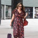 Kelly Brook at ITV Studios in London - 454 x 601