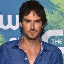 Ian Somerhalder- CW Stars Out In New York City - 434 x 600