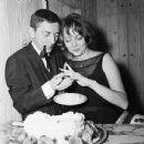 Aaron Spelling and Carolyn Jones