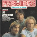Gérard Depardieu - Premiere Magazine Cover [France] (November 1983)