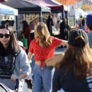 Bethany Joy Lenz – Shopping at the Farmer's Market in Studio City - 454 x 681
